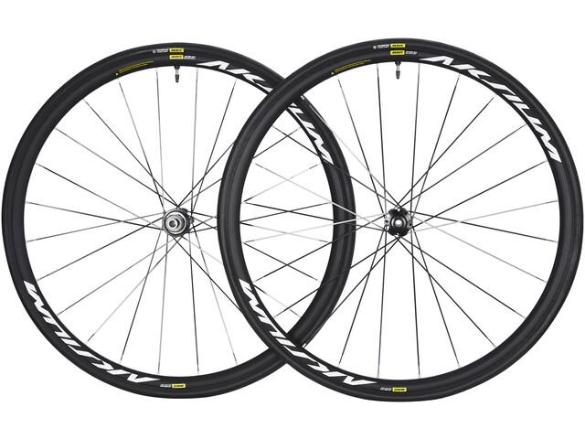Mavic Aksium Elite UST Laufradsatz Disc 6-Loch Shimano/SRAM M-28 schwarz